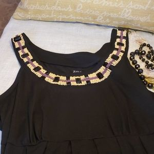 🎇Ana Beaded Top Size Large🎇